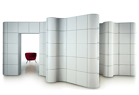 Paesaggi Italiani Contemporary Room Divider Systems KARMATRENDZ