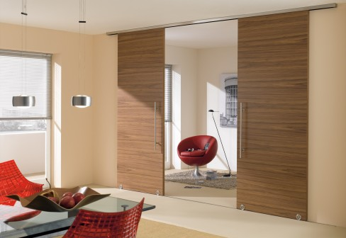 Bartels Modern Wooden Sliding Doors With MWE System Terra H