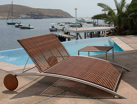 outdoor wooden chair designs