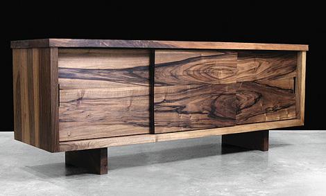 Modern Solid Wood Furniture from Hudson Furniture, in Claro Walnut |  KARMATRENDZ