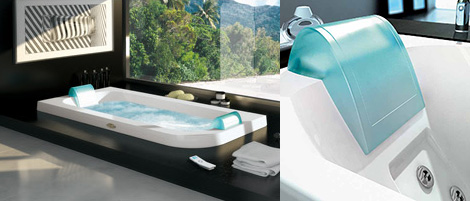 Two person whirlpool tub from jacuzzi new aquasoul for Jets para jacuzzi