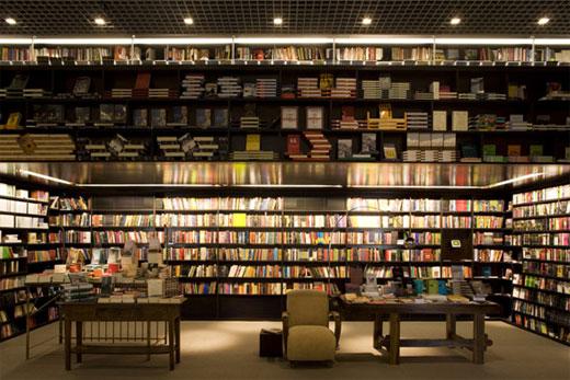 livraria da vila unique bookstore design by isay weinfeild