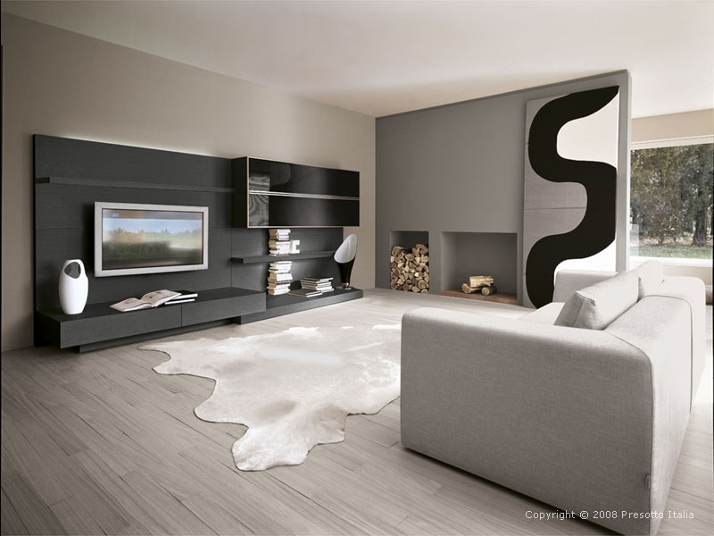 Ultra modern living rooms presotto italia karmatrendz for Ultra modern living room ideas