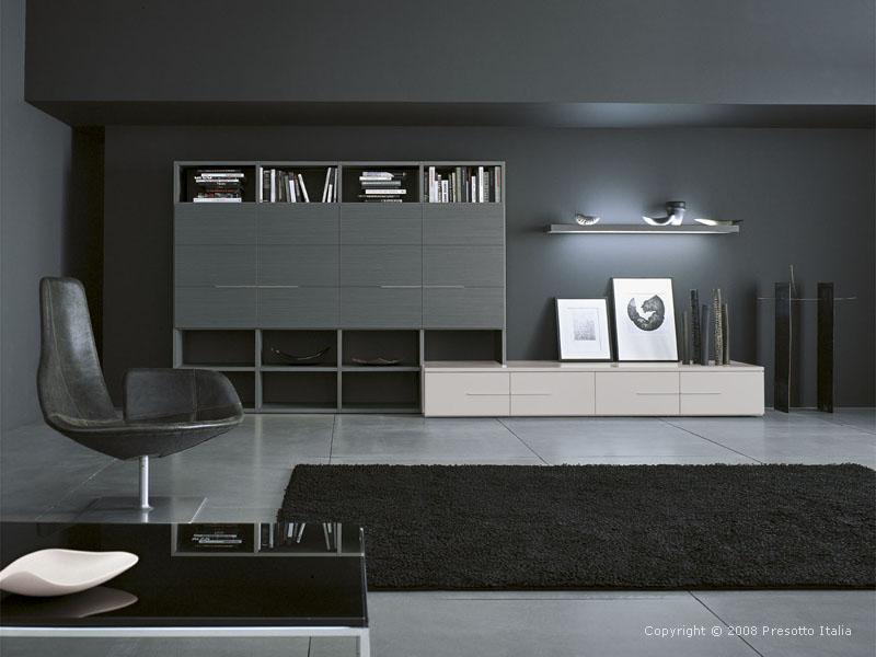 Ultra Modern Living Rooms - Presotto Italia   KARMATRENDZ