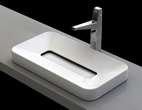 Modern bathroom fixtures from plavis design karmatrendz for Future bathroom designs