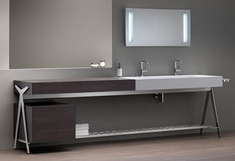 Delicieux Modern Bathroom Vanity From Dedecker