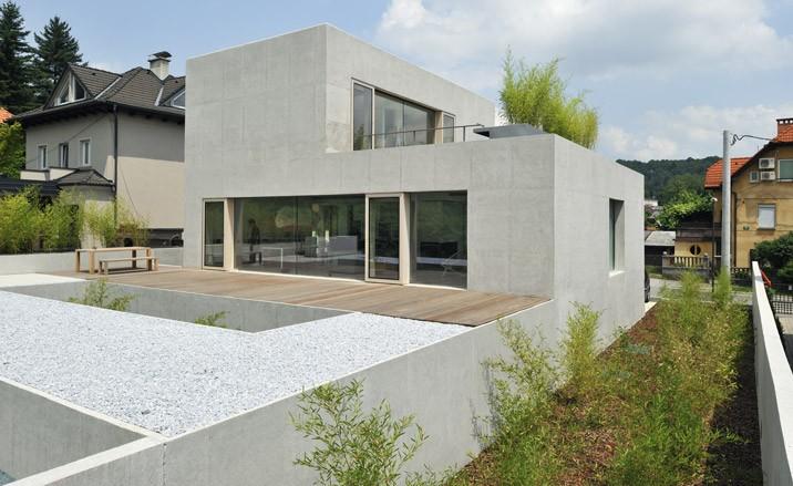 Multi level haus d in ljubljana slovenia karmatrendz for Modern haus design
