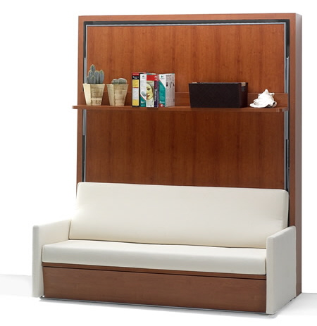 10 cool murphy beds karmatrendz for Sofa bett kombination