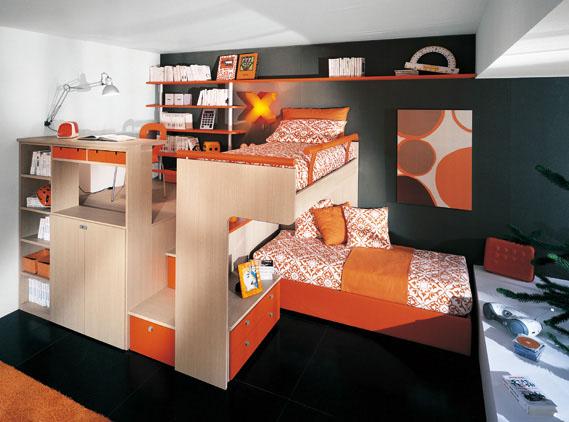 Children\'s Loft Bedrooms by Sangiorgio Mobili | KARMATRENDZ