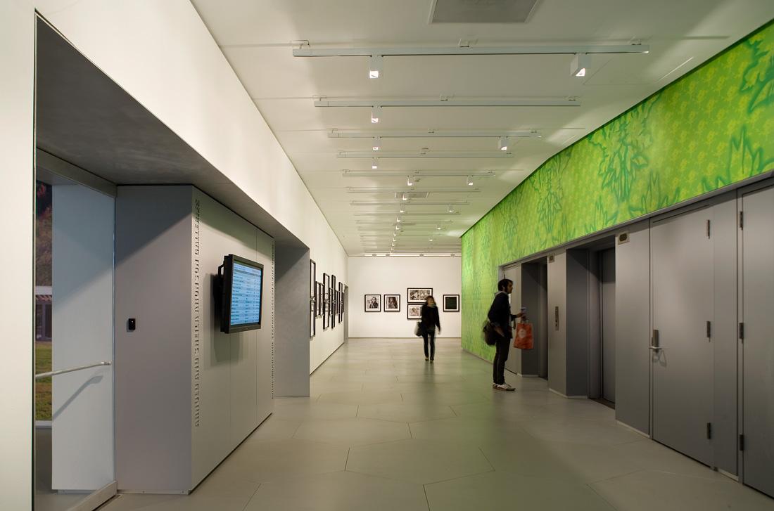 Corridor Roof Design: Sheila C. Johnson Design Center By Lyn Rice Architects
