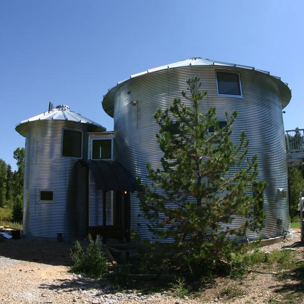 Silo house in utah karmatrendz for Silo house plans