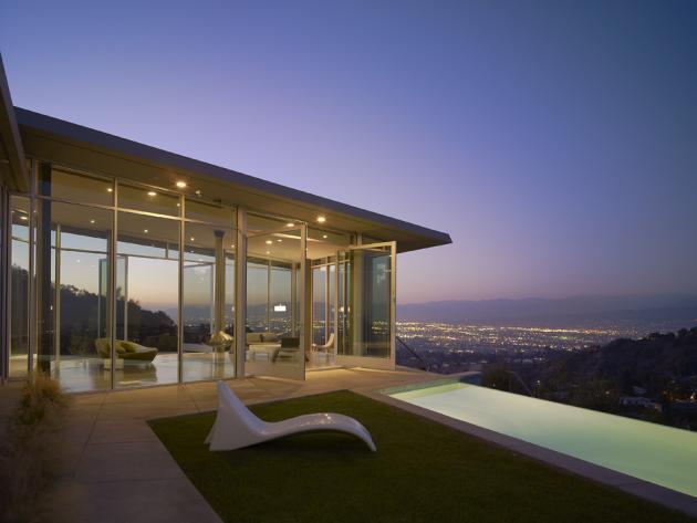 The Skyline Residence By Belzberg Architects