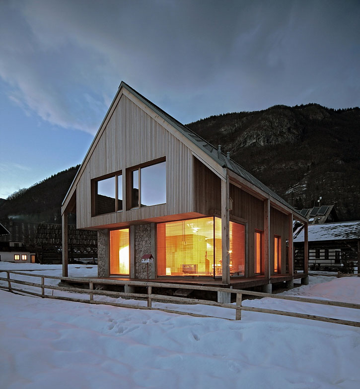 alpine hut by ofis architects karmatrendz