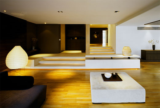 Warm And Natural Apartment Interior By K2LD Architects