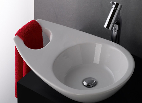 Cool bathroom sinks recycled sink by sanindusa karmatrendz for Recycled bathroom sinks