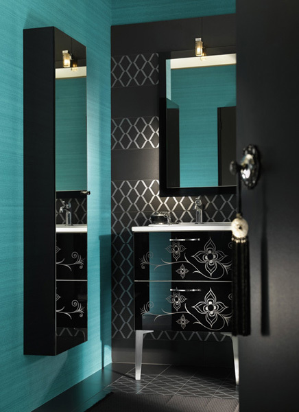 Glamour Bathroom Designs For Girls From Delpha Karmatrendz