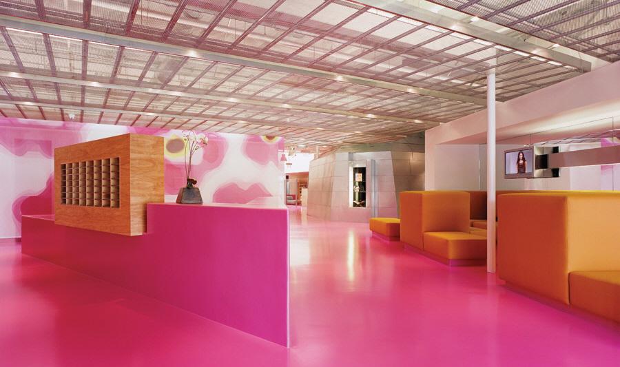 Fidm Colorful Campus Interior By Clive Wilkinson Karmatrendz