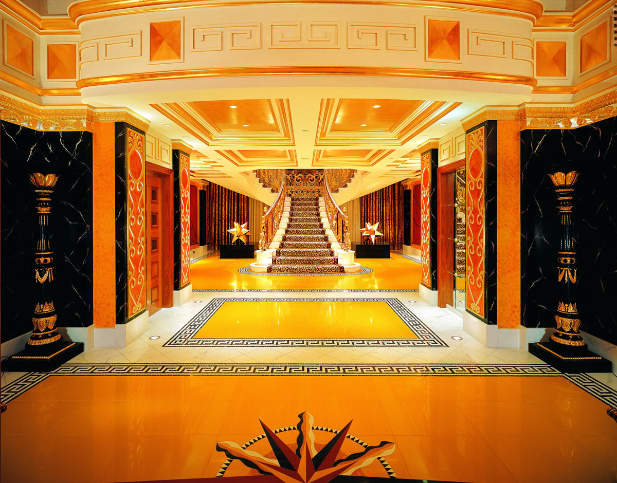 Royal resorts 10 outrageous hotels for the mega rich for Most expensive suite in dubai