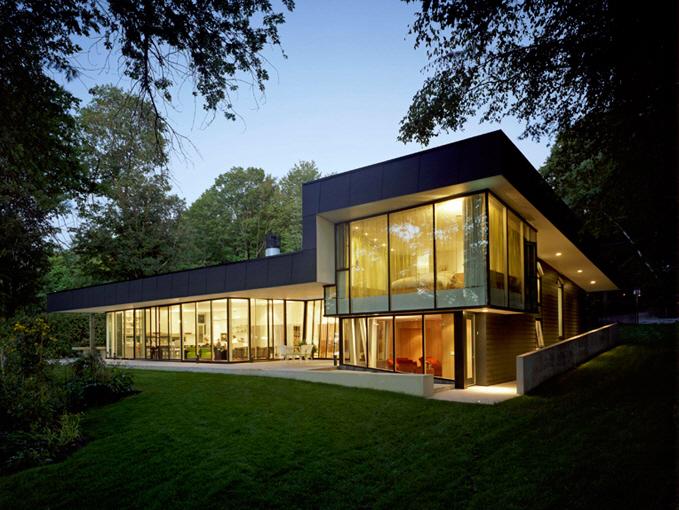 Lake House by Kohn Shnier Architects KARMATRENDZ