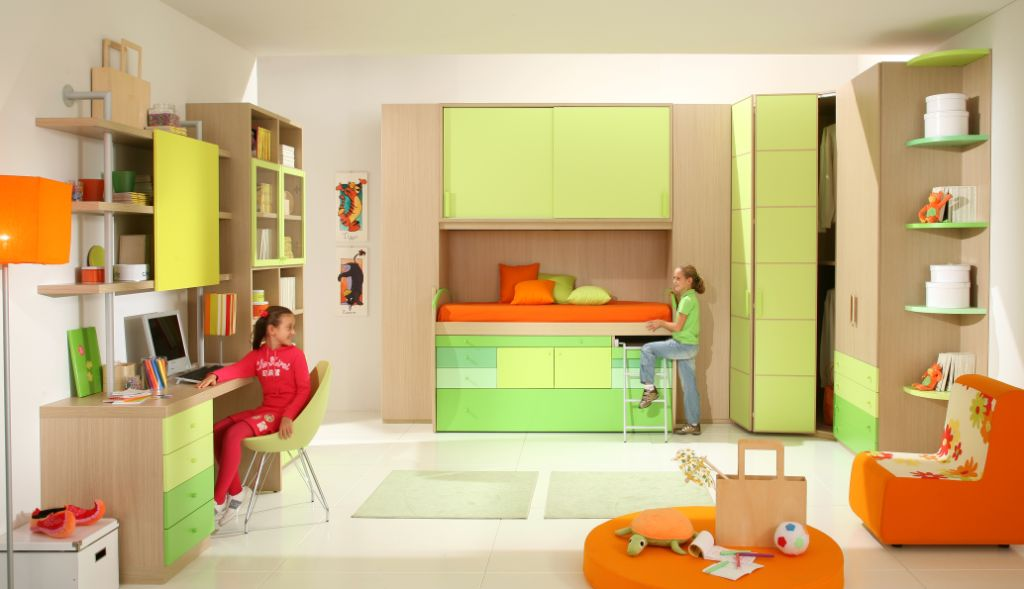 Colorful Children Bedroom Design By Giessegi Karmatrendz