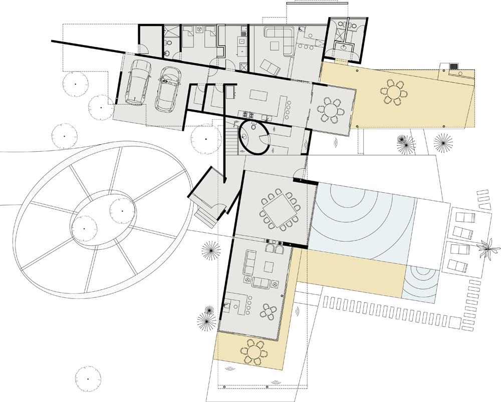 Casa en el uro by 7xa taller de arquitectura karmatrendz for Plan de arquitectura