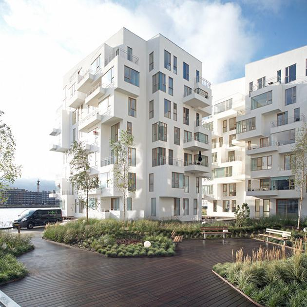 Harbor Cove Apartments: Harbour Isle Apartments By Lundgaard & Tranberg