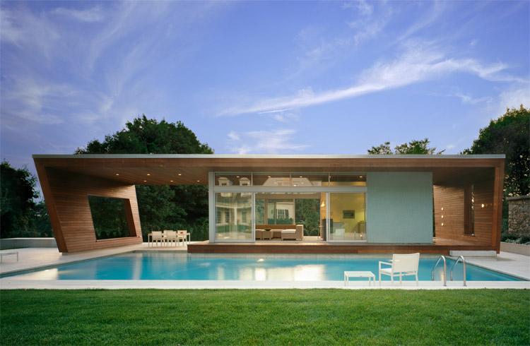 Modern Pool House Designs Prepossessing Wilton Pool Househariri & Hariri Architecture  Karmatrendz