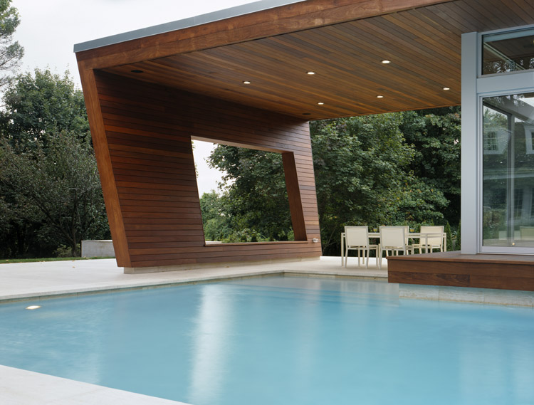 Wilton Pool House By Hariri & Hariri Architecture