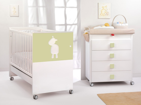 Baby nursery furniture by cambrass karmatrendz - Comodas de bebe ikea ...