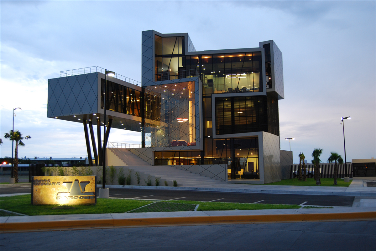Darcons headquarters mexico by arquitectura en proceso for Arquitectura and design