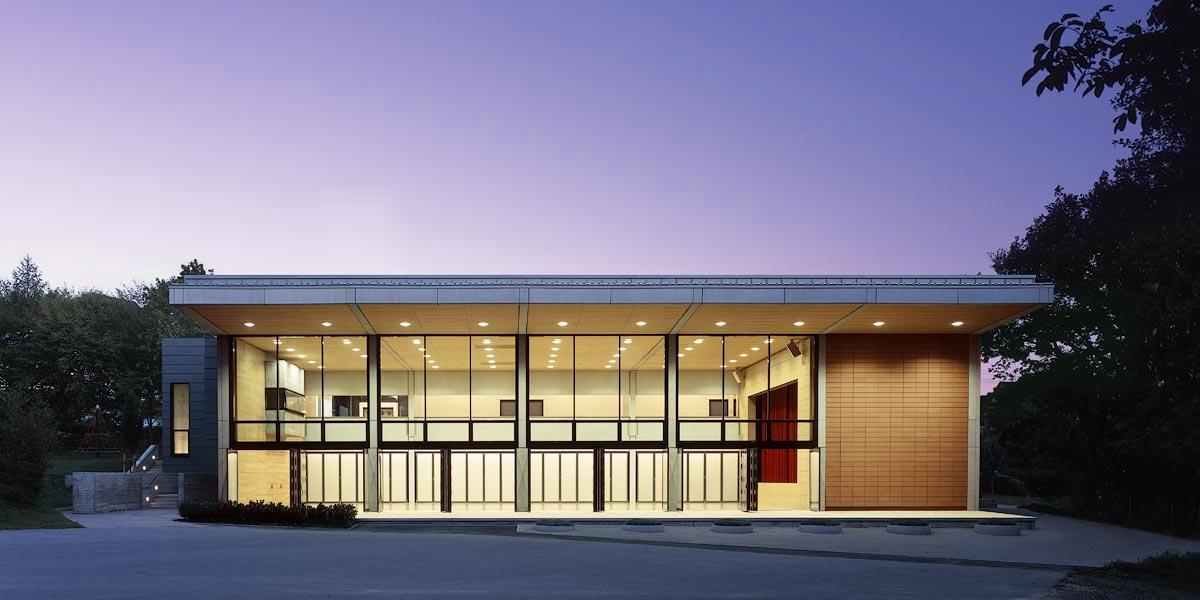 Zimmern Community Center By Ecker Architekten