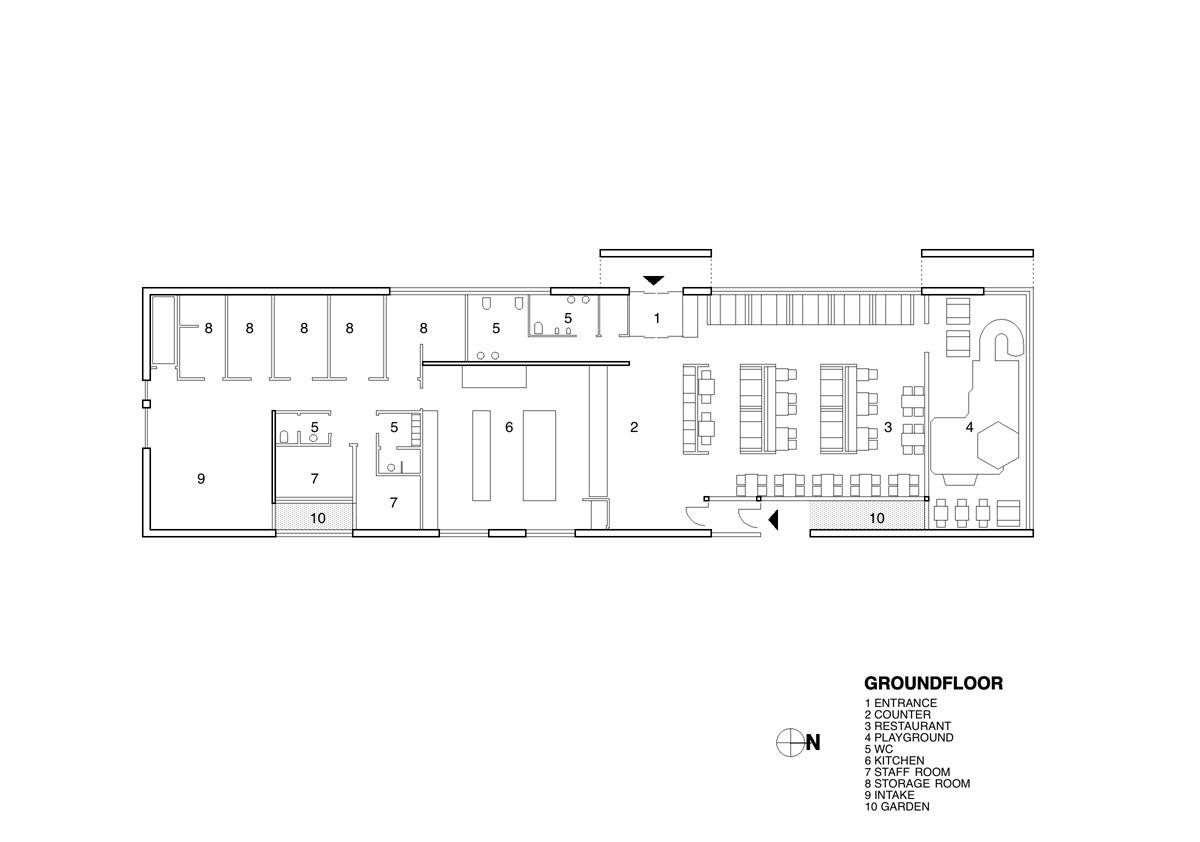 fast food restaurant kfc by pk arkitektar karmatrendz. Black Bedroom Furniture Sets. Home Design Ideas