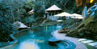 spa pool by the river