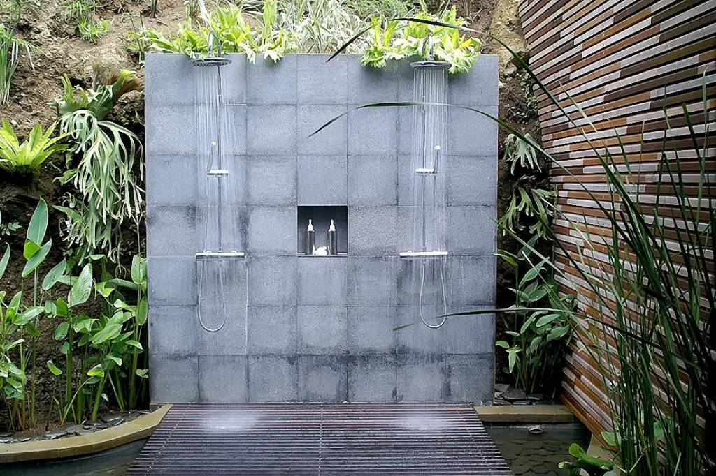 open air rainshower