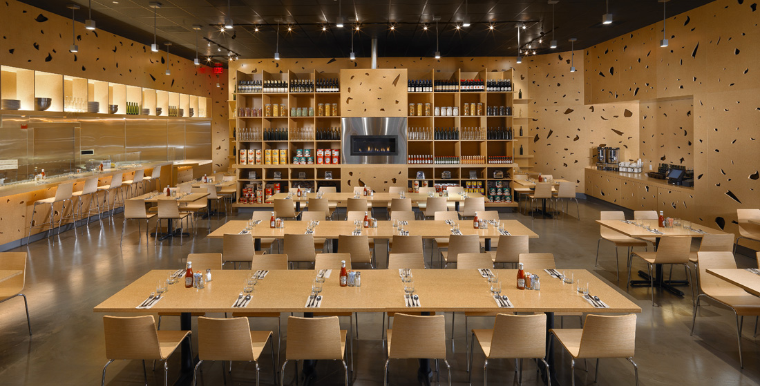 Toast restaurant by stanley saitowitz natoma architects