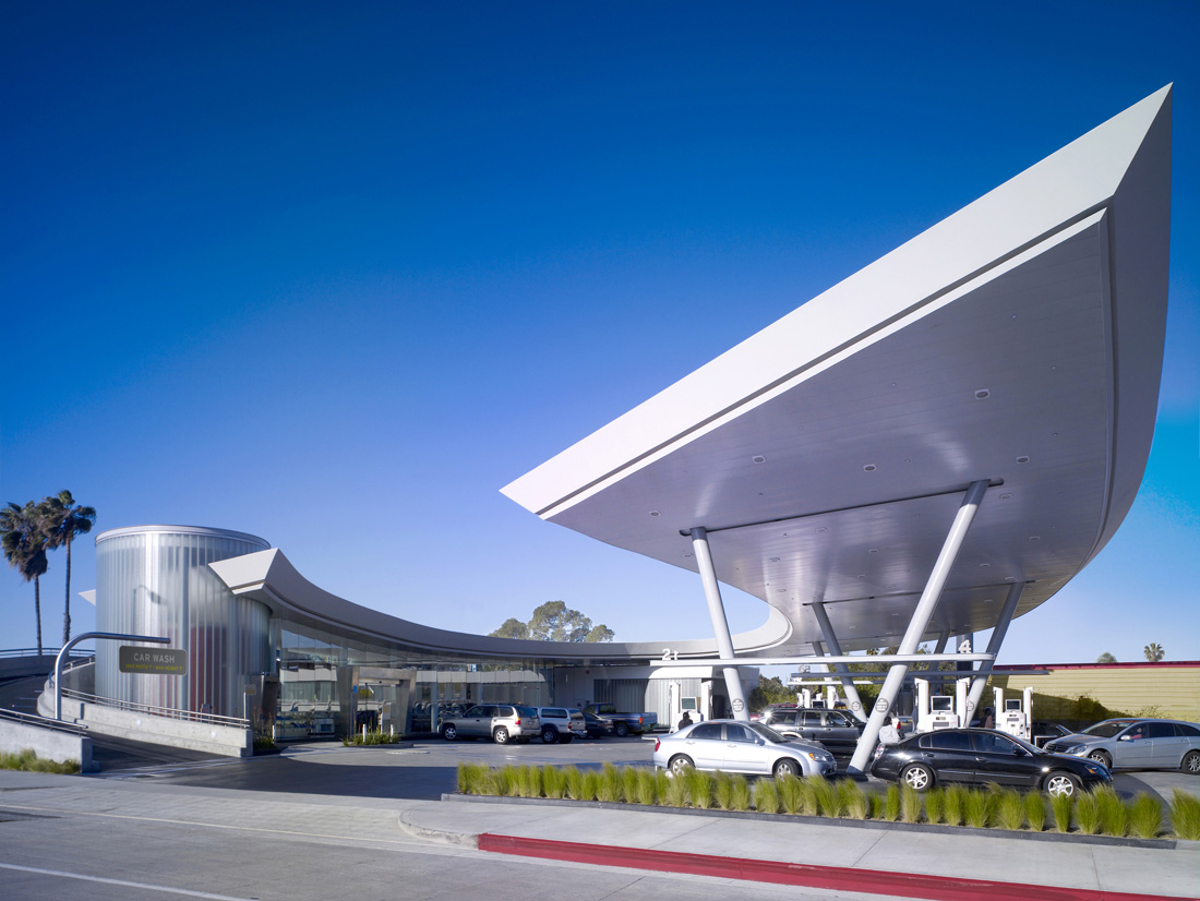United Oil Gasoline Station By Kanner Architect Karmatrendz