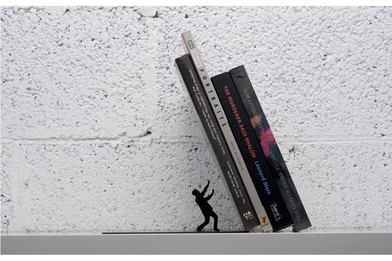 Falling Books Bookend By Art Ori Karmatrendz