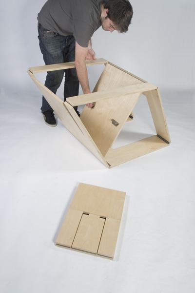 Folding Chair And Ottoman By Brainstream Karmatrendz