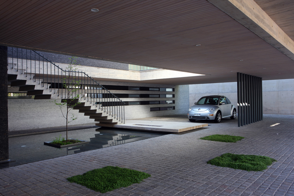 Garage Design Matadero: House 2 By Eduardo Berlin Razmilic