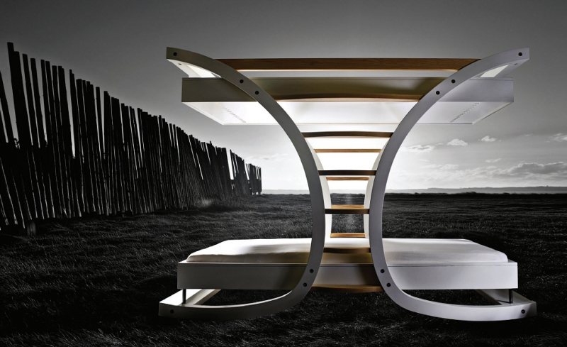 diy log bunk bed plans