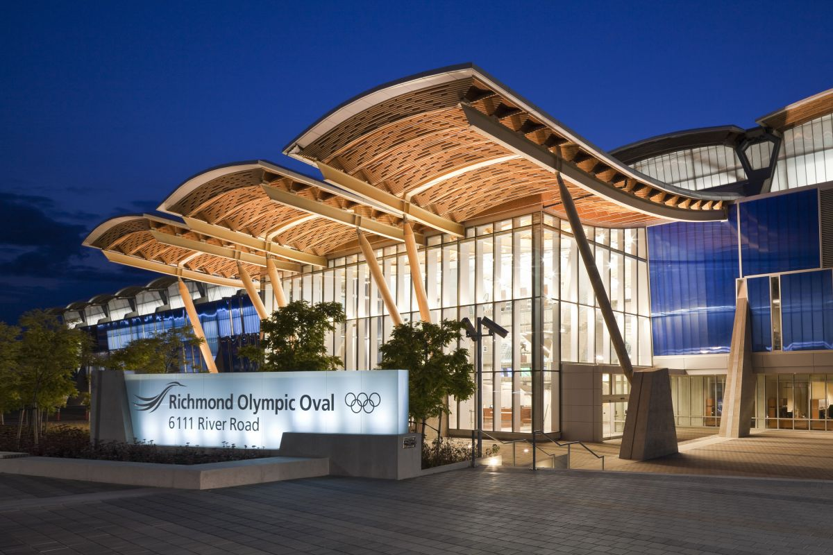 The Richmond Olympic Oval By Cannon Design Karmatrendz