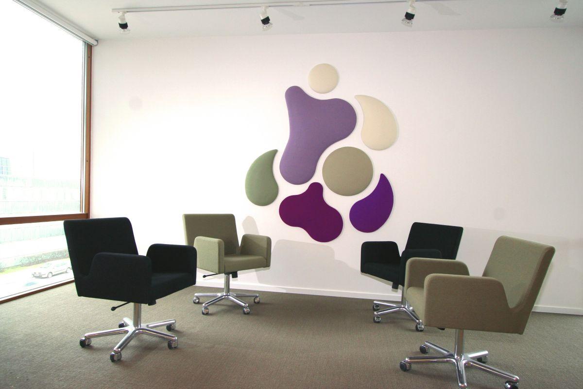 Decorative Sound Absorbing Wall Panels From Wobedo Design Karmatrendz