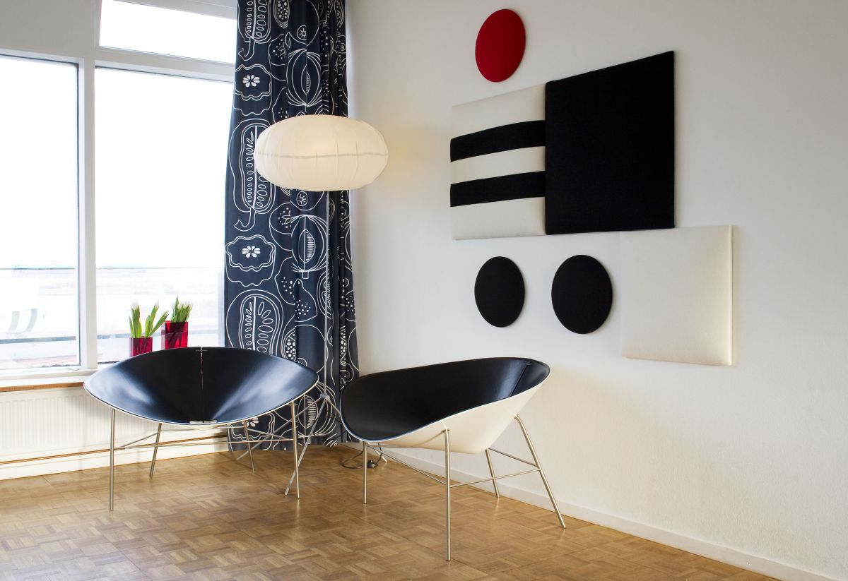Decorative Sound Absorbing Wall Panels From Wobedo Design