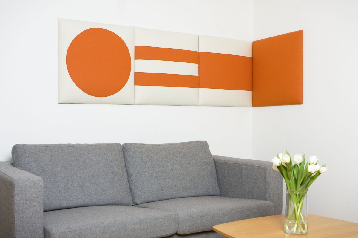 decorative sound absorbing wall panels from wobedo design karmatrendz. Black Bedroom Furniture Sets. Home Design Ideas