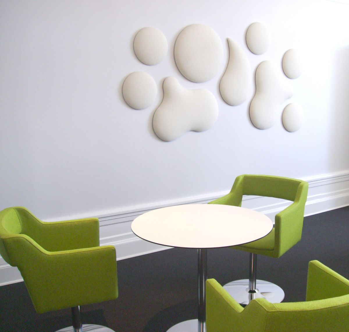Decorative sound absorbing wall panels from wobedo design karmatrendz - Creative wall decor ideas ...
