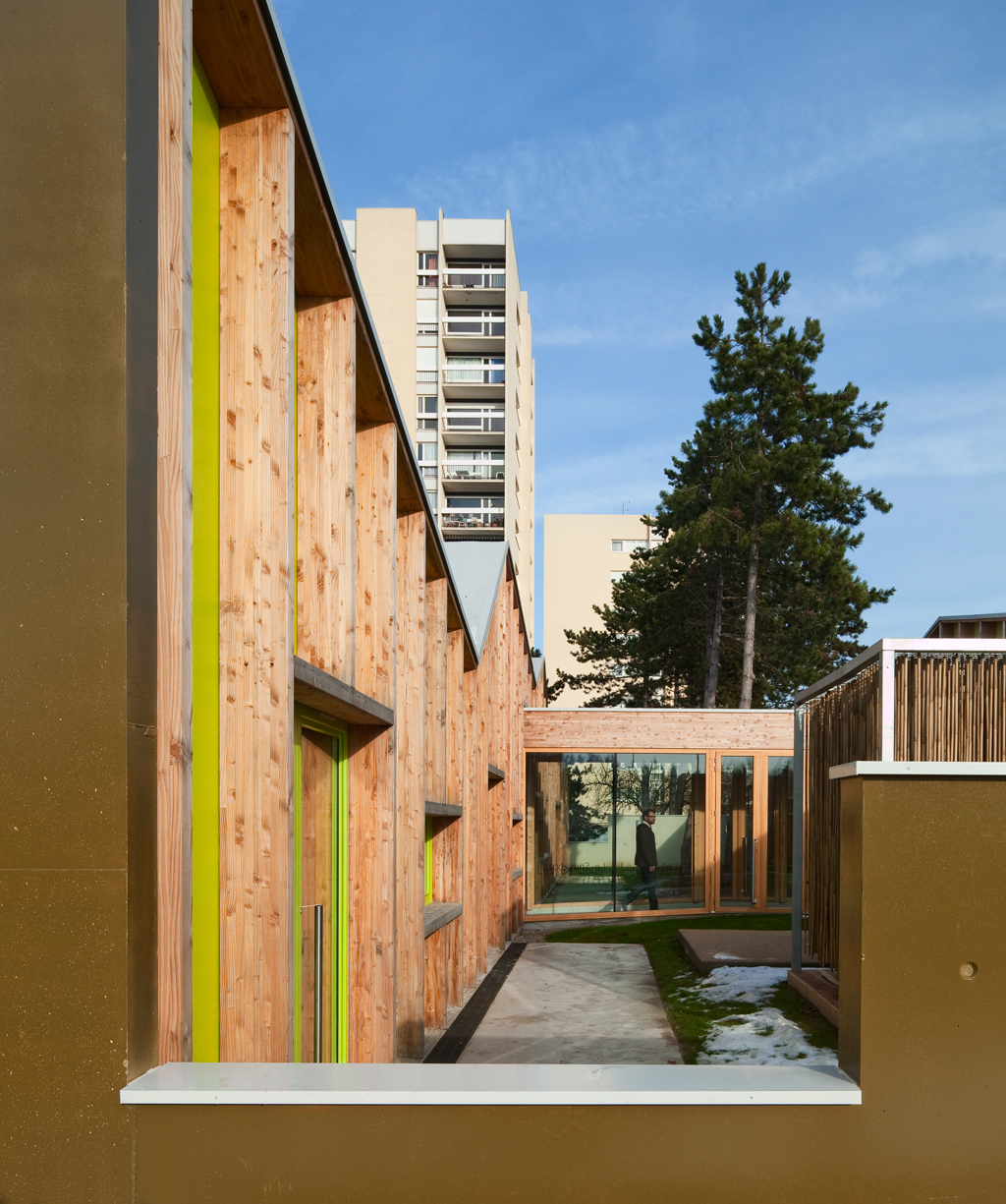 Whose Nursery Is That: Epinay Nursery School By BP Architectures