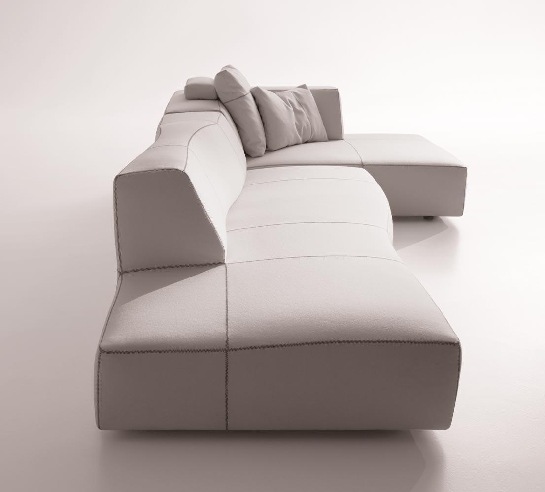 The bend sofa by patricia urquiola for b b italia for B b sofa