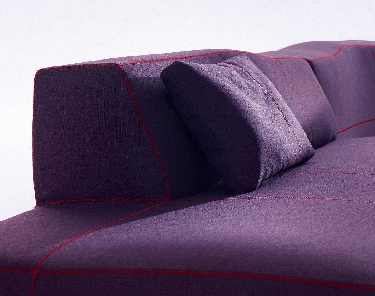 The bend sofa by patricia urquiola for b b italia for B b couch