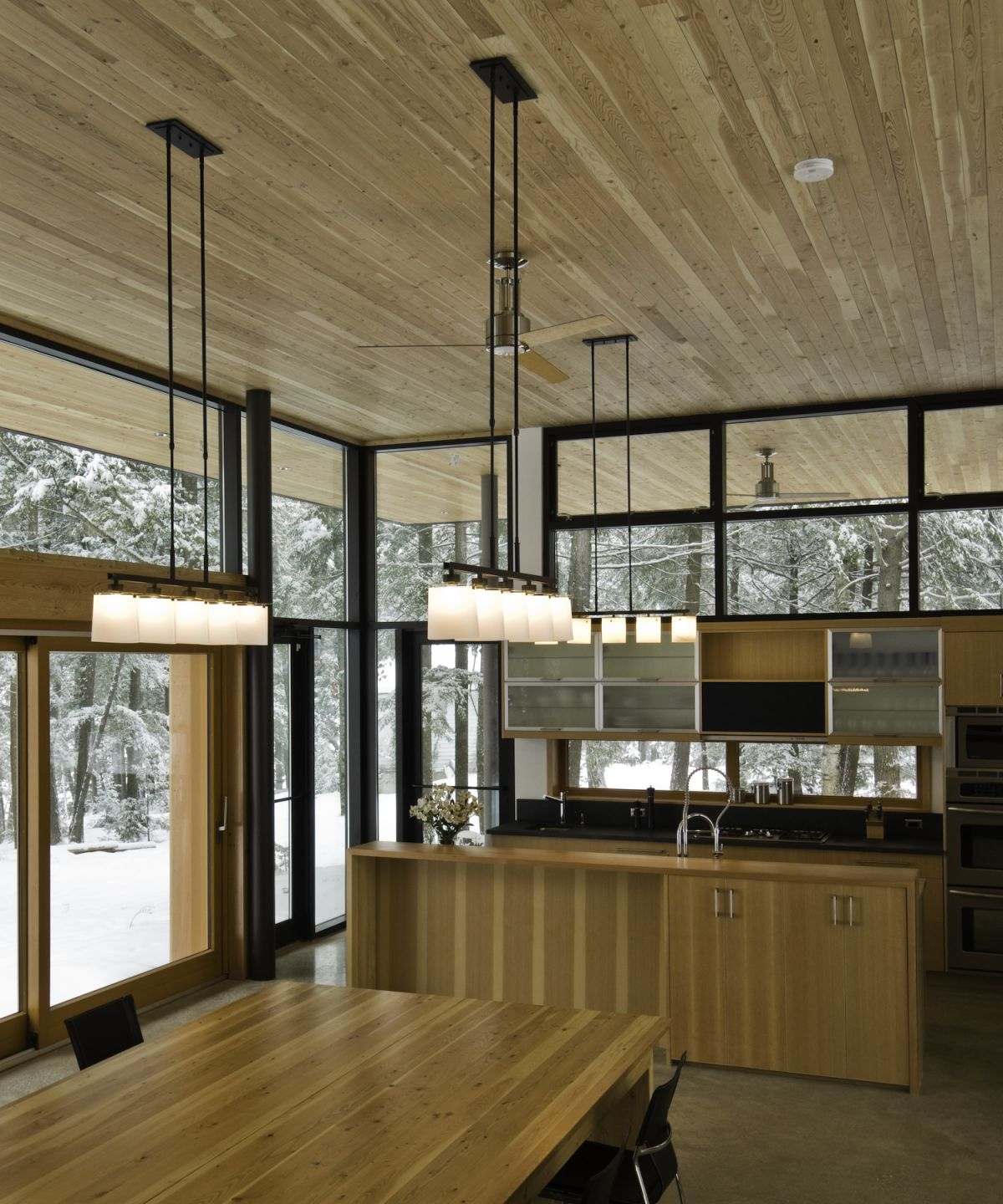 modern country house interior Modern House