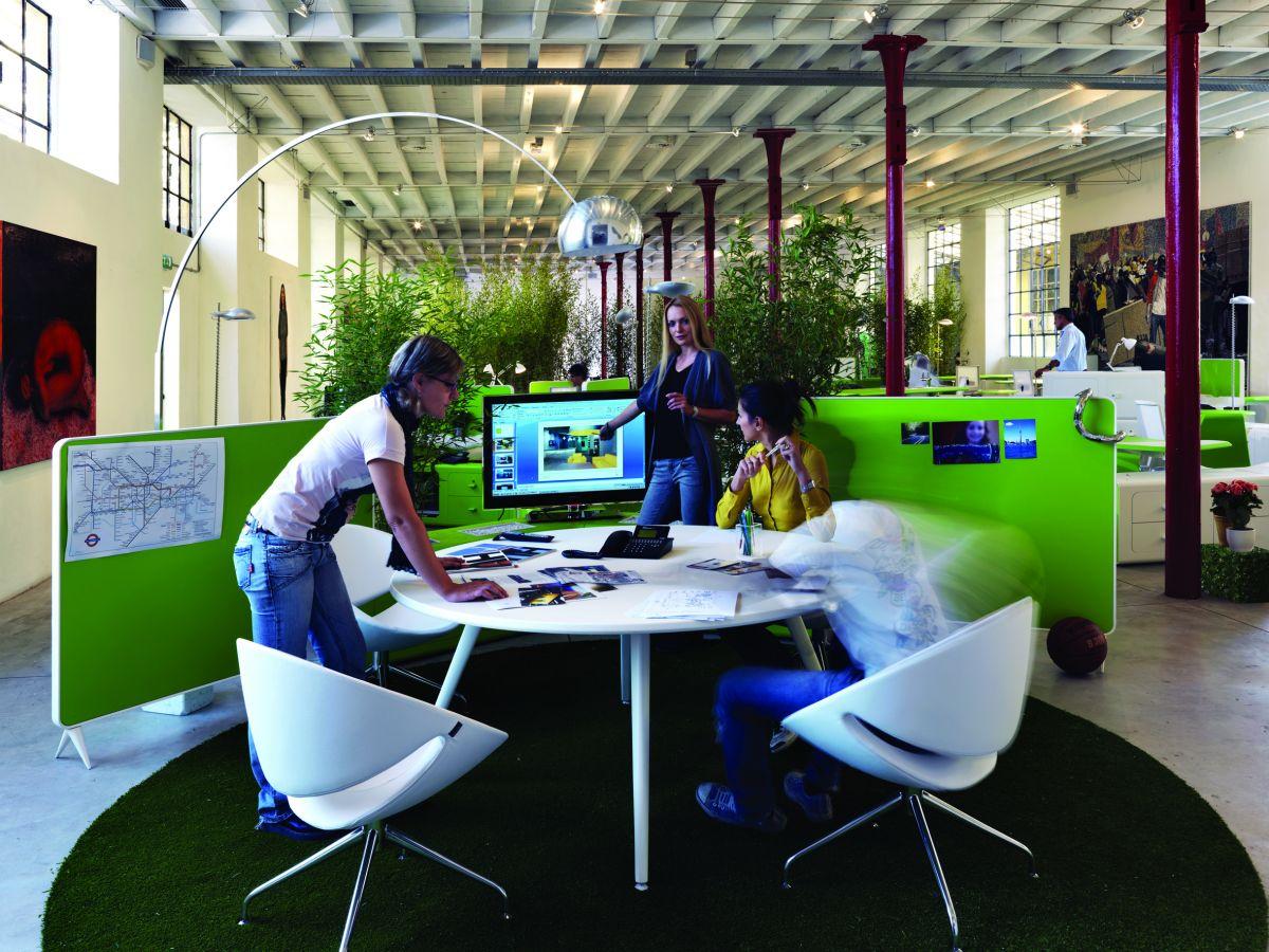 The beta workplace system by pierandrei associati for for Caracteristicas de una oficina